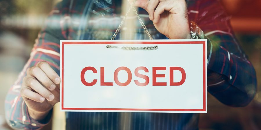 Your options as a consumer when a business closes