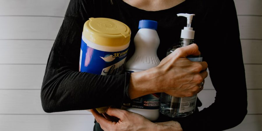 How to use disinfectant safely and effectively
